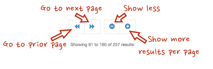 New Pagination